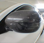 2009 Subaru Impreza WRX STi Stream CF Air Intake Scoop & Mirrors by Scopione 2