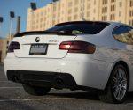 2011 BMW 335i LCI Grilles, Pillars, Roof & Trunk Spoilers in Carbon Fiber