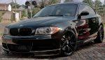BMW 1 Series E82 2011 Carbon Fiber Splitters for M-Tech Bumper by Scopione 2