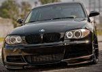 BMW 1 Series E82 2011 Carbon Fiber Splitters for M-Tech Bumper by Scopione
