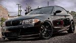 BMW 1 Series E82 2011 Carbon Fiber Splitters for M-Tech Bumper by Scopione 4