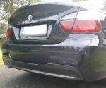 BMW 3 Series 4dr Sedan (E90) Carbon Fiber Diffuser by Scopione