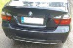 BMW 3 Series 4dr Sedan (E90) Carbon Fiber Diffuser by Scopione 3
