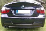 BMW 3 Series 4dr Sedan (E90) Carbon Fiber Diffuser by Scopione 4
