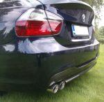BMW 3 Series 4dr Sedan (E90) Carbon Fiber Diffuser by Scopione 2