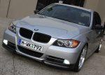 BMW 4 Door 3 Series E90 Pre-LCI Carbon Fiber Splitters, Spoiler, Mirror Covers & Matte Grille