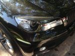 BMW X6 E71 Carbon Fiber Headlight Eye Lids by Scopione