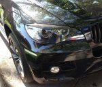 BMW X6 E71 Carbon Fiber Headlight Eye Lids by Scopione 3