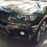 BMW X6 E71 Carbon Fiber Headlight Eye Lids by Scopione 4
