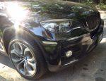 BMW X6 E71 Carbon Fiber Headlight Eye Lids by Scopione 2