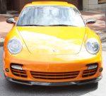 Scopione Glossy Front Carbon Fiber Lip for my Porsche 911 4