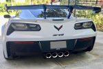Scopione Carbon Fiber Tail Light Bezels for Chevrolet Corvette C7 – ZR1 4