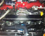 Subaru Impreza WRX STi Carbon Fiber Alternator Cover by Scopione